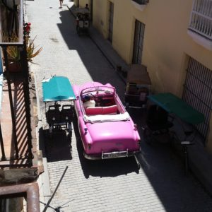 Reise Hunter Kuba Havana pink Cadilac