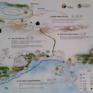 Reise Hunter Galapagos Isabela Map