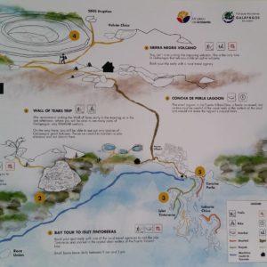 Reise Hunter Galapagos Isabela Map