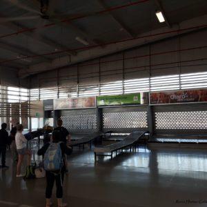 Reise Hunter Galapagos Baltra Flughafen