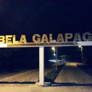 Reise Hunter Galapagos Isabela EIngang