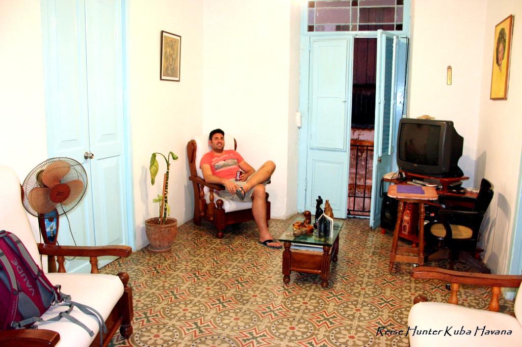 Reise Hunter Kuba Havana Casa Vieja 1840Wohnzimmer