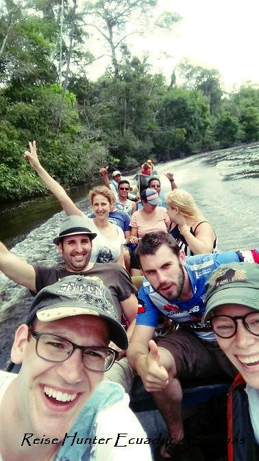 Reise Hunter Amazonas Boot zurück