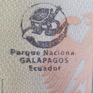 Reise Hunter Galapagos Passtempel