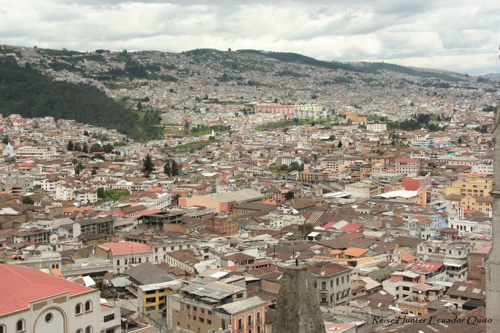 Reise Hunter Ecuador Quito City View