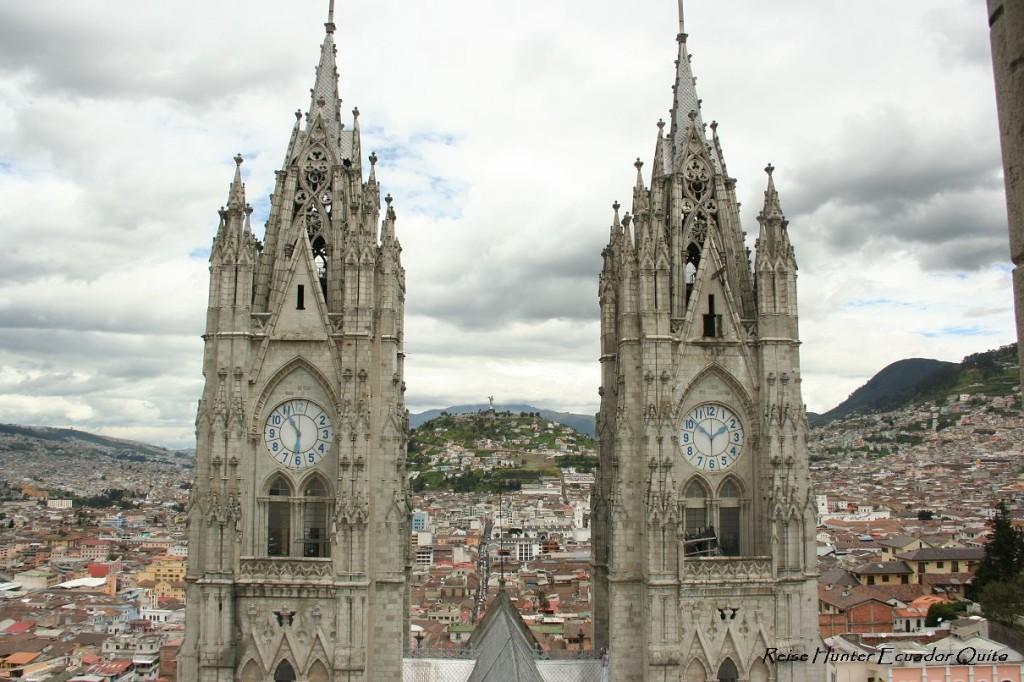 Reise Hunter Ecuador Quito Basilica Panecillo