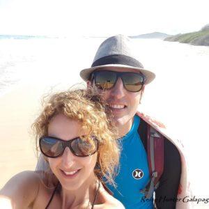 Reise Hunter Galapagos Isabela Strandspaziergang