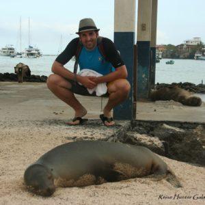 Reise Hunter Galapagos Seelöwe D