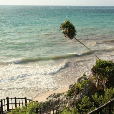 Reise Hunter Mexiko Tulum Strand Aussicht