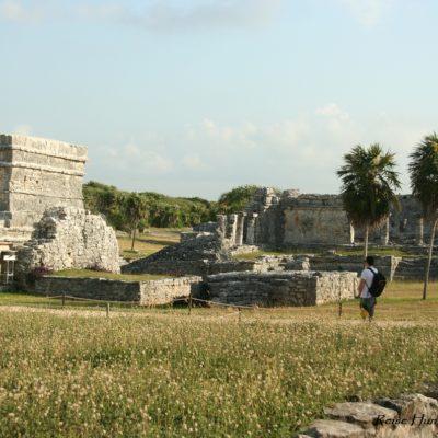 Reise Hunter Mexiko Tulum Maya Ruine Areal 2