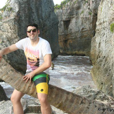 Reise Hunter Mexiko Tulum Strand Palme Daniel