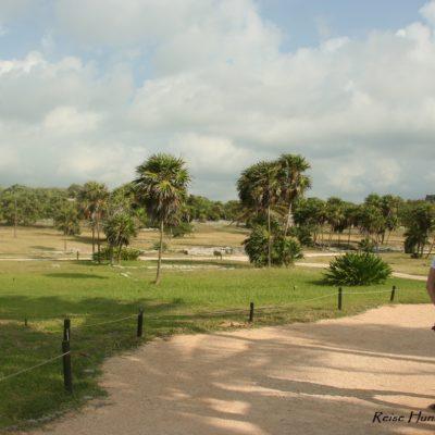 Reise Hunter Mexiko Maya Ruine Areal