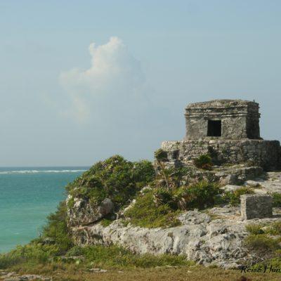 Reise Hunter Mexiko Maya Ruine Tulum