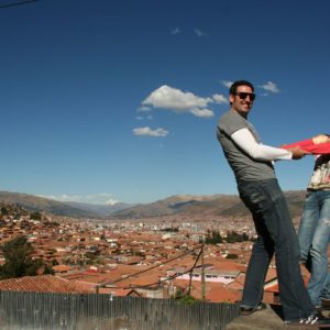 Reise Hunter Cusco Aussicht D+J