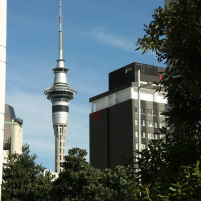 Reise Hunter Neuseeland Auckland Skytower Tag