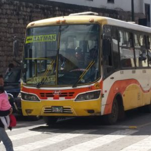 Reise Hunter Cusco Batman Bus