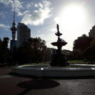 Reise Hunter Neuseeland Auckland Uni Park