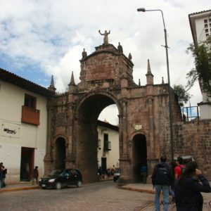 Reise Hunter Cusco Stadttor