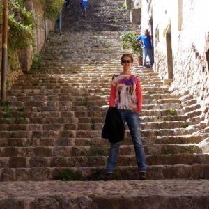 Reise Hunter Peru Cusco Treppen