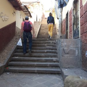 Reise Hunter Cusco steil bergauf