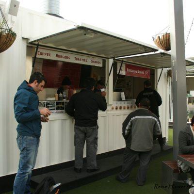 Reise Hunter Neuseeland Auckland Lunch