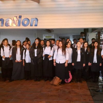 Reise Hunter Neuseeland Auckland Schulchor