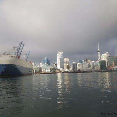 Reise Hunter Neuseeland Auckland Hafen