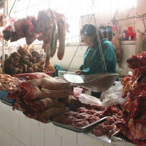 Reise Hunter Cusco Fleischerei Abteilung