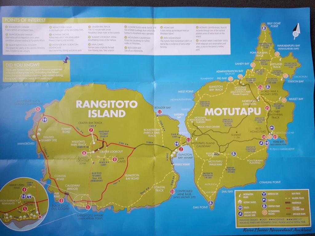 Reise Hunter Neuseeland Rangitito Island