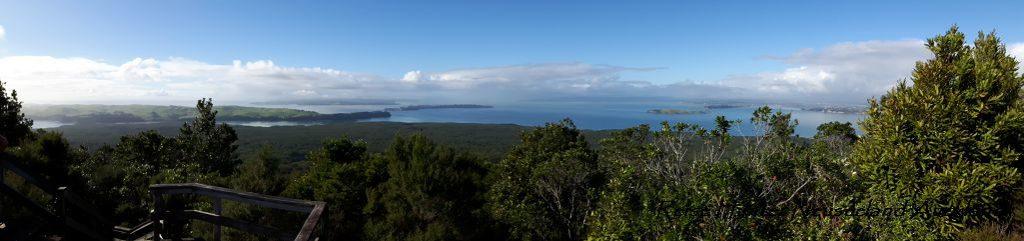 Reise Hunter Neuseeland Rangitito Island Aussicht