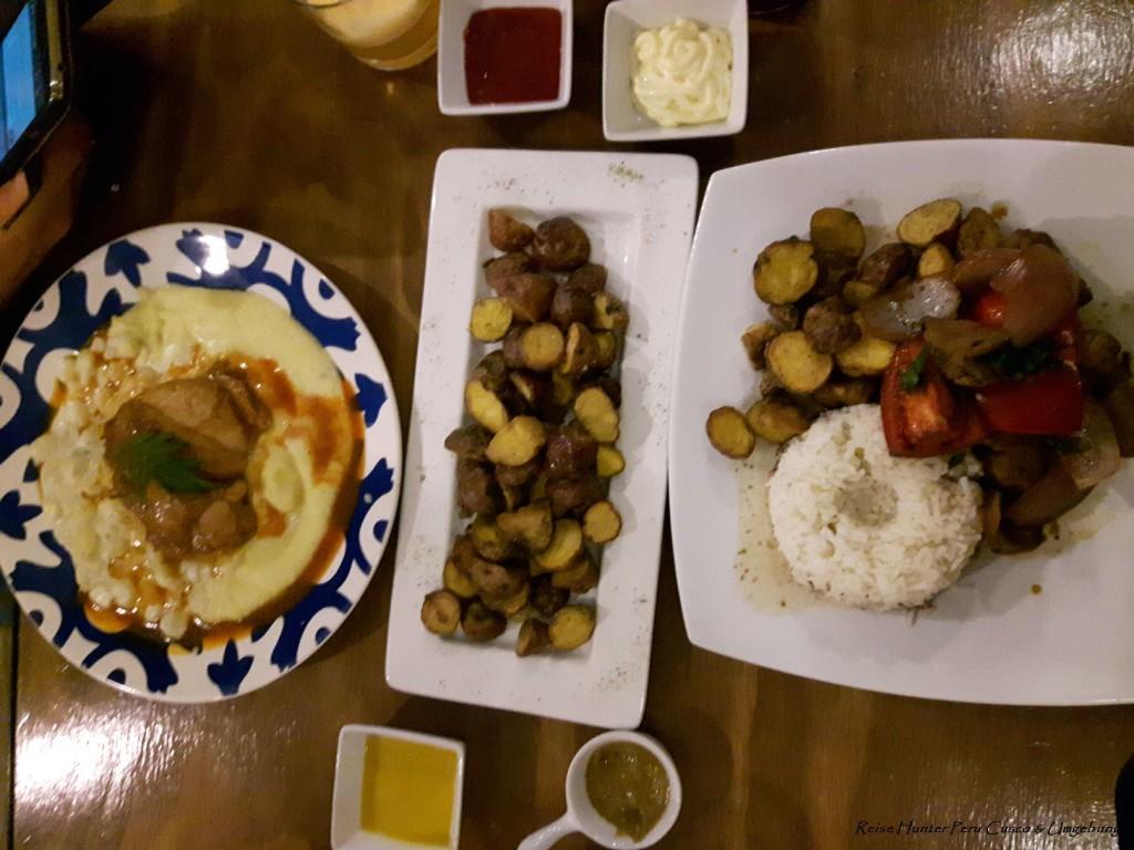Reise Hunter Cusco Essen