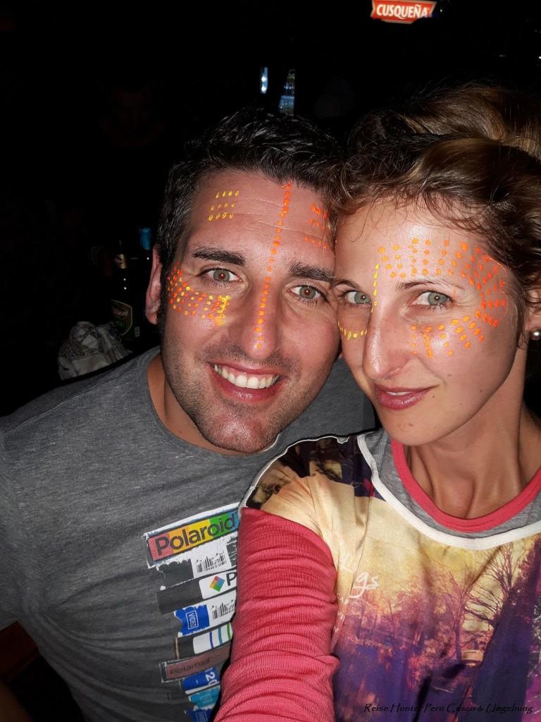 Reise Hunter Cusco UV Party2