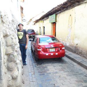 Reise Hunter Cusco schmale Bürgersteige