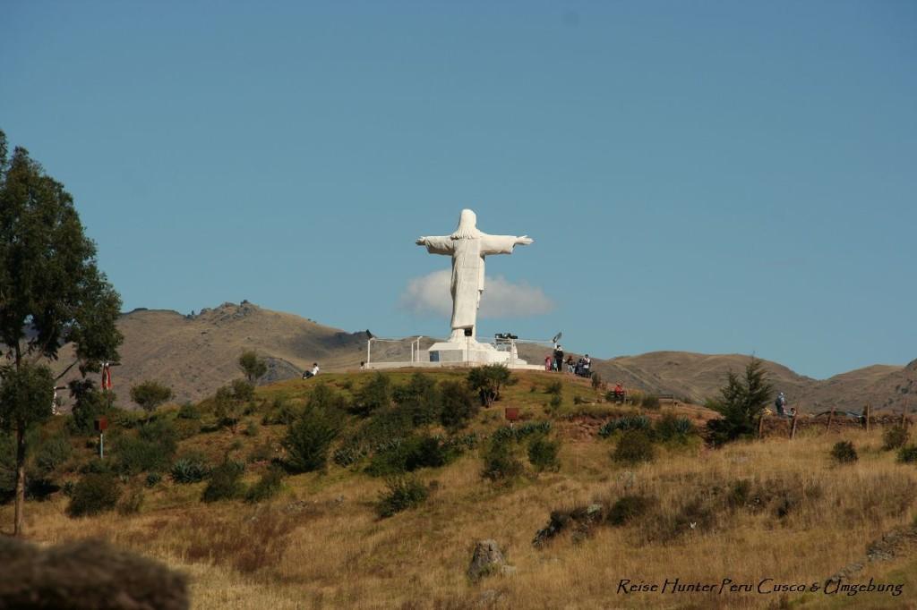 Reise Hunter Cusco Cristo Blanco