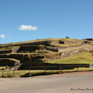 Reise Hunter Cusco Inka Ruine CristoBlanco2