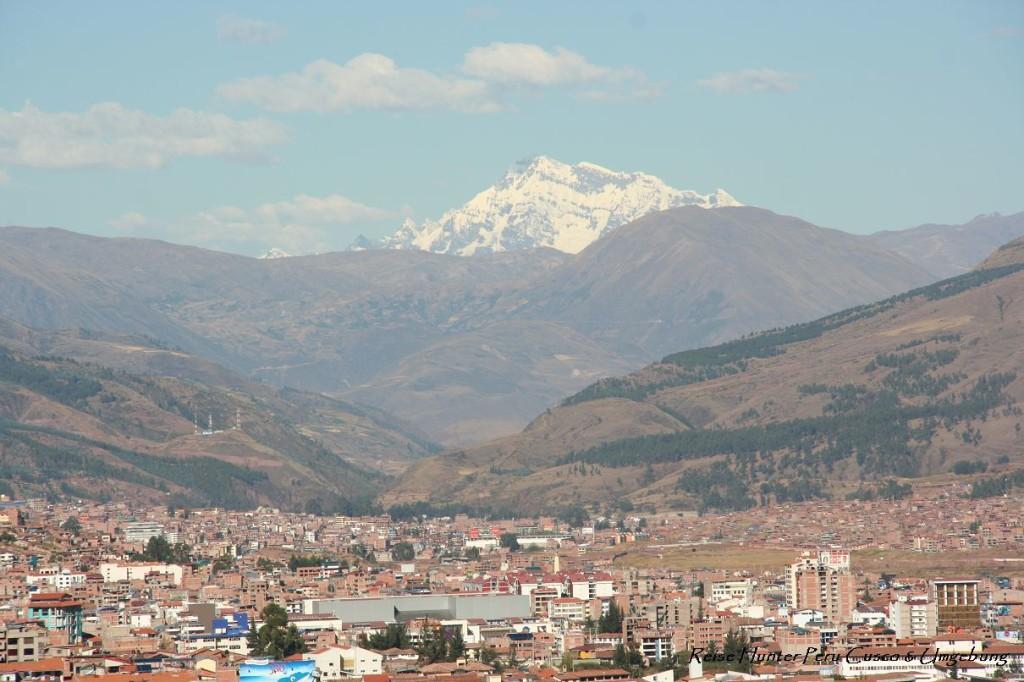Reise Hunter Cusco Blick über die Stadt