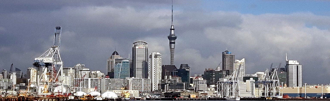 Reise Hunter Neusseland Auckland Titel