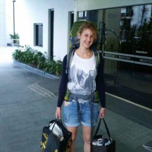 Reise Hunter Australien Surfers Paradise Bepackte Judith