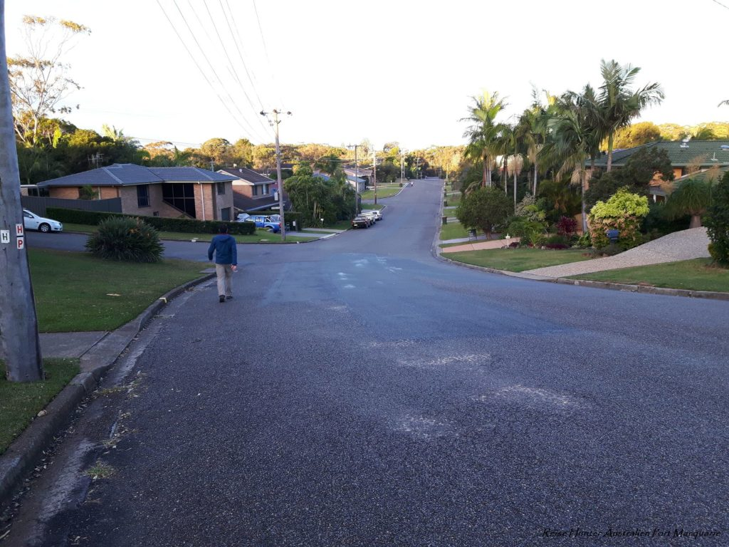Reise Hunter Australien Port Macquarie breite Straße