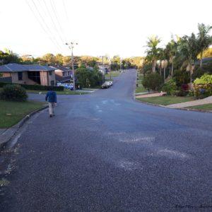 Reise Hunter Australien Port Macquarie breite Straße