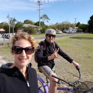Reise Hunter Australien Byron Bay Biketour