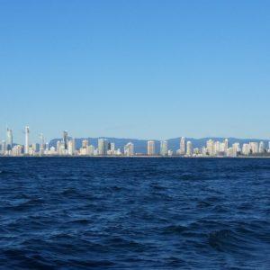 Reise Hunter Australien Surfers Paradise Wasserfront Boot2