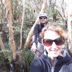 Reise Hunter Australien Byron Bay Selfi Biketour