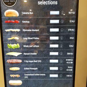 Reise Hunter Australien McD Create your Taste