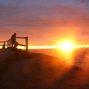 Reise Hunter Australien Byron Bay Sonne geht auf Aussichtspunkt