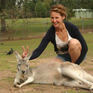 Reise Hunter Australien Lone Pine Kängurus4