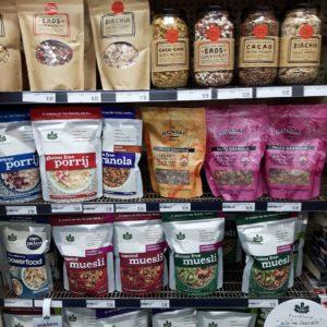 Reise Hunter Australien Byron Bay Müsliauswahl Supermarkt