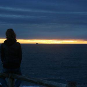 Reise Hunter Australien Byron Bay Sonne geht unter Judith2