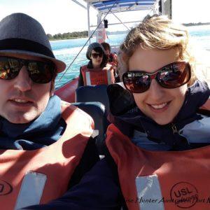 Reise Hunter Australien Port Macquarie Bootstour