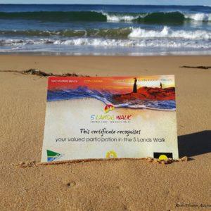 Reise Hunter Australien 5 Lands Walk Zertifikat